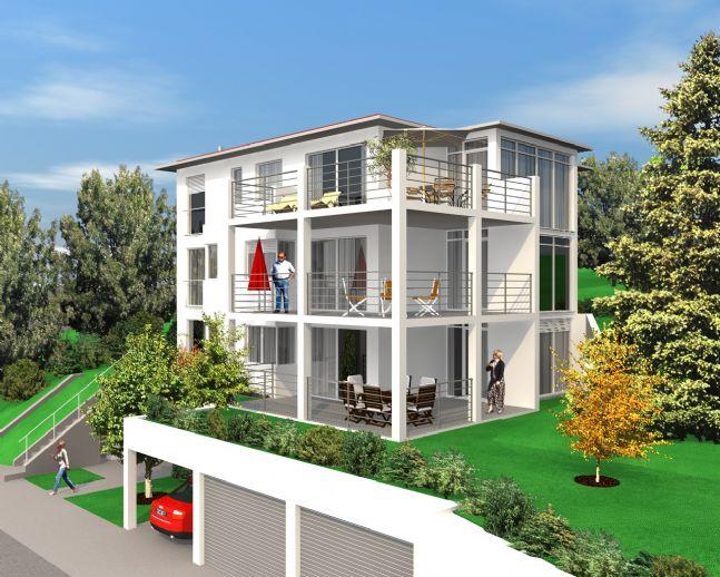 zentral gelegene neubau stadtwohnungen in ruhiger lage von ravensburg immobilien in oberschwaben. Black Bedroom Furniture Sets. Home Design Ideas