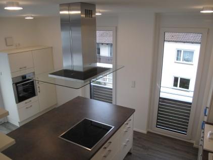 erstbezug – ruhige 3-zimmer penthousewohnung mit großer, Wohnzimmer dekoo